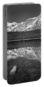 1m3643-bw-howse Peak Mt. Chephren Reflect-bw Portable Battery Charger