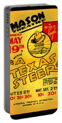 Hoyts A Texas Steer Portable Battery Charger