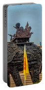 Huay Mongkol Temple  Portable Battery Charger by Adrian Evans
