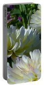 Hues Of Softness Dahlia Portable Battery Charger