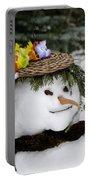 Hula Snowlady Portable Battery Charger