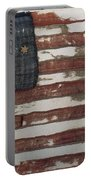 Hulbert Flag Early Us Flag 1776 Portable Battery Charger by Photo Researchers
