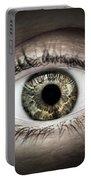 Human Eye Macro Portable Battery Charger
