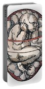 Human Fetus, 16th Century Portable Battery Charger