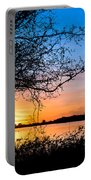 Humboldt Bay Autumn Sunset 1 Portable Battery Charger