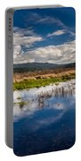 Humboldt Marshes In Spring Portable Battery Charger