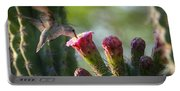Hummingbird Breakfast Southwest Style  Portable Battery Charger