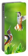 Hummingbird Dance  Portable Battery Charger