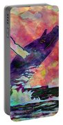 Humpback Whale Digital Color Portable Battery Charger