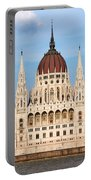 Hungarian Parliament Building In Budapest Portable Battery Charger
