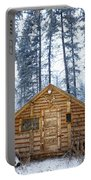 Hunting Cabin In Alberta Portable Battery Charger