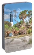 Hunting Island - Beach View Portable Battery Charger