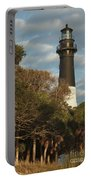 Hunting Island Lighthouse 1 Portable Battery Charger
