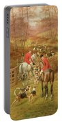 Hunting Scene, 1906 Portable Battery Charger