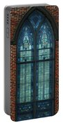 Stained Glass Arch Window Portable Battery Charger