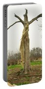 Hurricane Katrina Resurrection Tree Portable Battery Charger