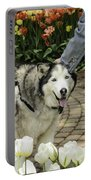 Husky Tulip Time Portable Battery Charger