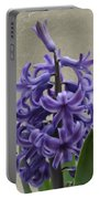 Hyacinth Purple Portable Battery Charger