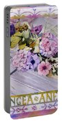 Hydrangea Anemones Portable Battery Charger
