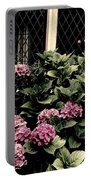 Hydrangea Blossoms Portable Battery Charger