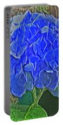 Hydrangea Blues Portable Battery Charger