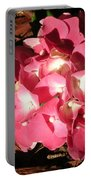 Hydrangea Flower Portable Battery Charger