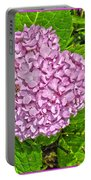 Hydrangea Love Portable Battery Charger