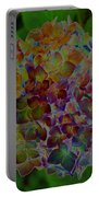 Hydrangea Solorized Portable Battery Charger
