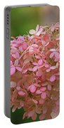 Hydrangea Valentine Portable Battery Charger