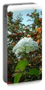 Hydrangea With Mountain Ash Portable Battery Charger