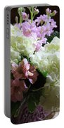 Hydrangeas Bouquet Portable Battery Charger