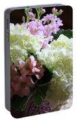 Hydrangeas Bouquet Portable Battery Charger