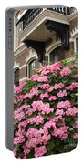 Hydrangeas In Holland Portable Battery Charger