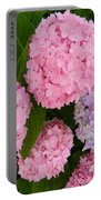 Hydrangeas Portable Battery Charger