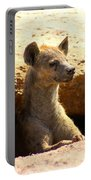 Hyena In Den Portable Battery Charger
