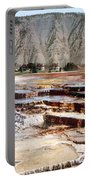 Hymen Terrace Yellowstone National Park Portable Battery Charger