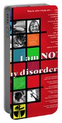 I Am Not My Disorder Portable Battery Charger