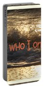 I Am Not Who I Once Was Portable Battery Charger