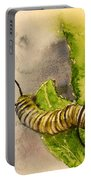 I Am Very Hungry - Monarch Caterpillar Portable Battery Charger