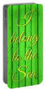 I Belong To The Sea Portable Battery Charger