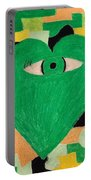 I Eye Love Green Portable Battery Charger