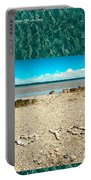 I Heart You Shores Of Lake Michigan Portable Battery Charger
