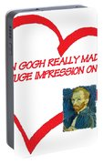 I Love Van Gogh Portable Battery Charger
