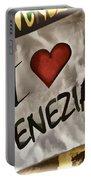 I Love Venezia Portable Battery Charger