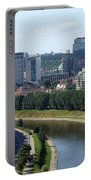 I Love You. Vilnius. Lithuania Portable Battery Charger