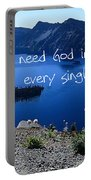 I Need God Portable Battery Charger
