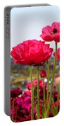I Sea The Sea - Ranunculus Flowers By Diana Sainz Portable Battery Charger