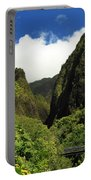 Iao Needle - Iao Valley Portable Battery Charger