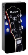 Ibanez Af75 Electric Hollowbody Guitar Headstock Portable Battery Charger