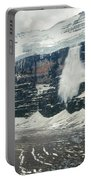 1m3545-01-ice Avalanche On Mt. Victoria Portable Battery Charger